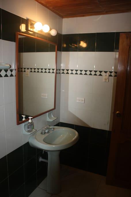Room #4 - Full, in-suite, bathroom.