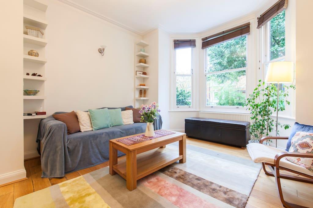 Modern garden apartment kensington apartamentos en - Apartamento en londres ...