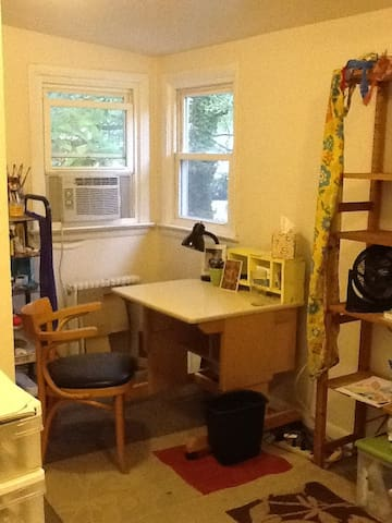 sunny loft bed, eco-arts household - Hyattsville - Ev