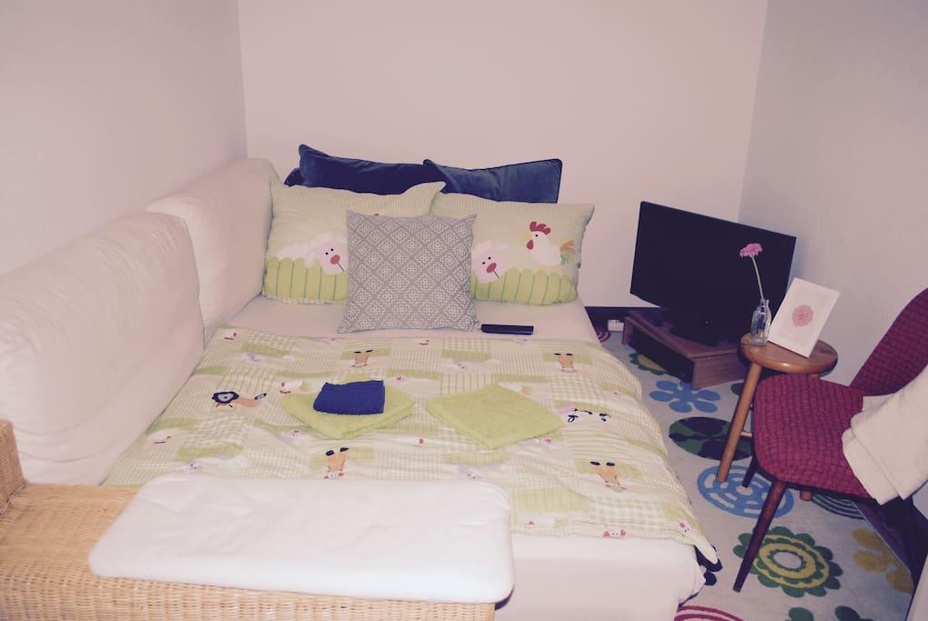 bernachtung in herzlicher atmosph re wohnungen zur miete in leipzig sachsen deutschland. Black Bedroom Furniture Sets. Home Design Ideas