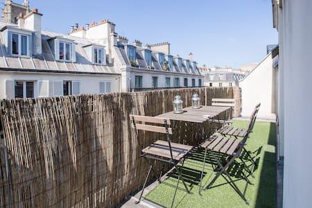 """2 PIECES TERRASSE DANS """"LE MARAIS"""" - Paris - Apartment"""