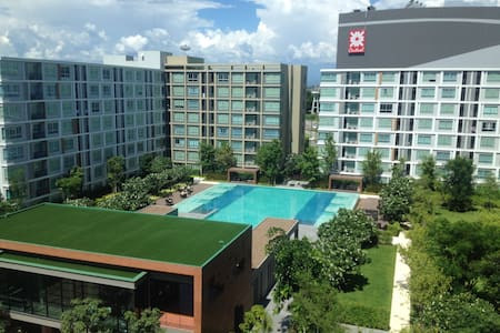 Peaceful and nicely furnished 1-BR apartment - Chiang Mai - Flat