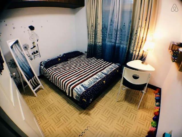 溫馨悠閒兩房,頂溪捷運步行6分鐘 2人房 台北 永和 夜市1分鐘 - Yonghe District