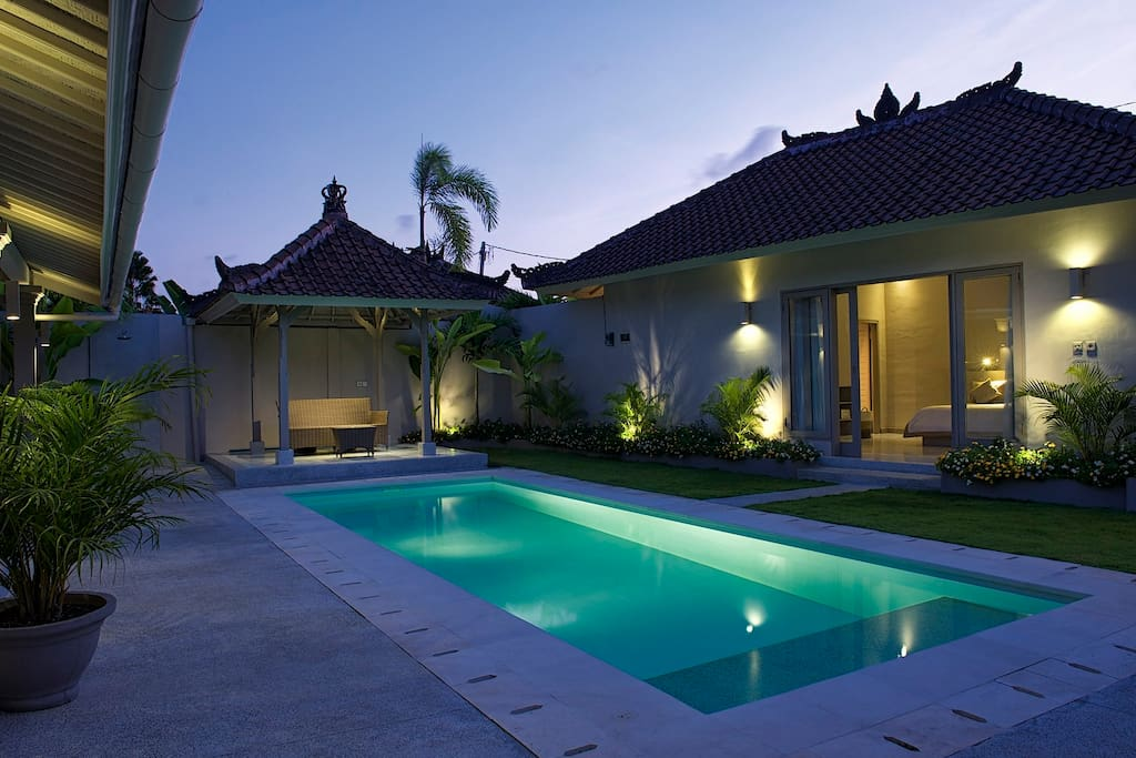 Swim anytime in the privacy of your villa.