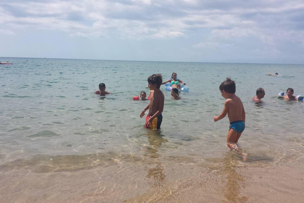 Mare con sabbia