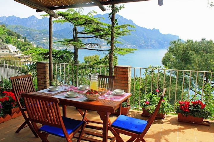 Panoramic House close to Amalfi - Ravello - Apartament