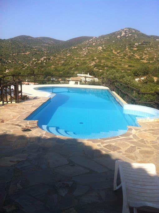 piscina casa Maria