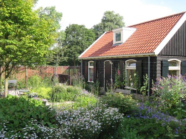 Romantic Garden House & free bikes  - Amsterdam - Chalet