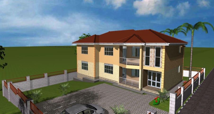 Hotel Ella Kira - Opposite Makerere College, Kira - กัมปาลา - ที่พักพร้อมอาหารเช้า
