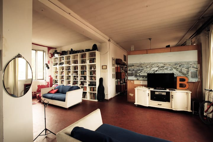 Loft for artists and bicycle lovers - Milano - Loft