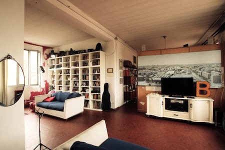 Loft for artists and bicycle lovers - Milán