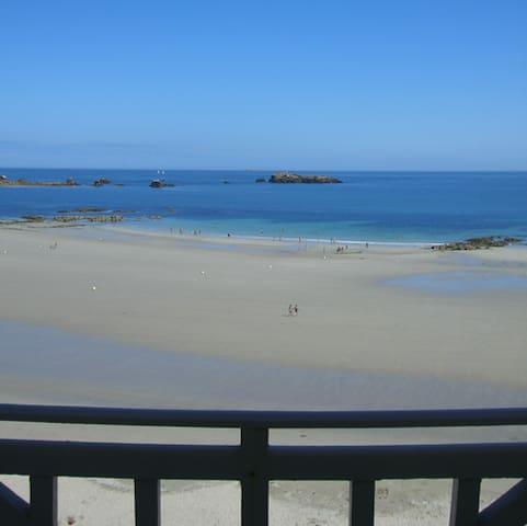 plage de tregastel à Primel - Plougasnou - Appartement