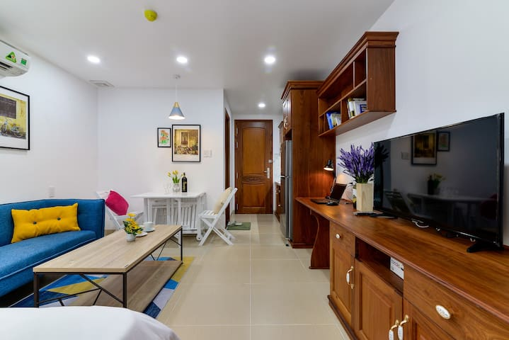 Deluxe Studio with full facilities, near Ben Thanh