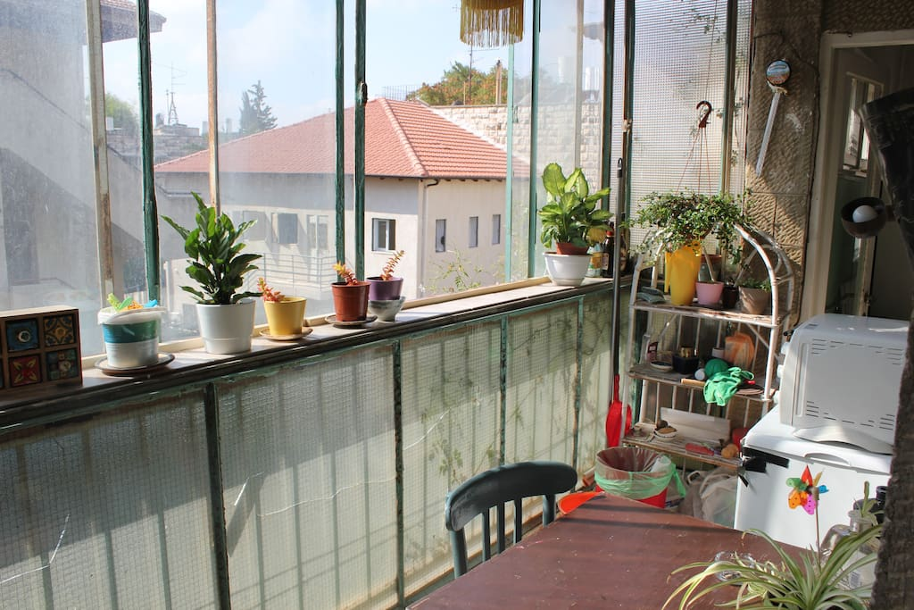 your balcony to use