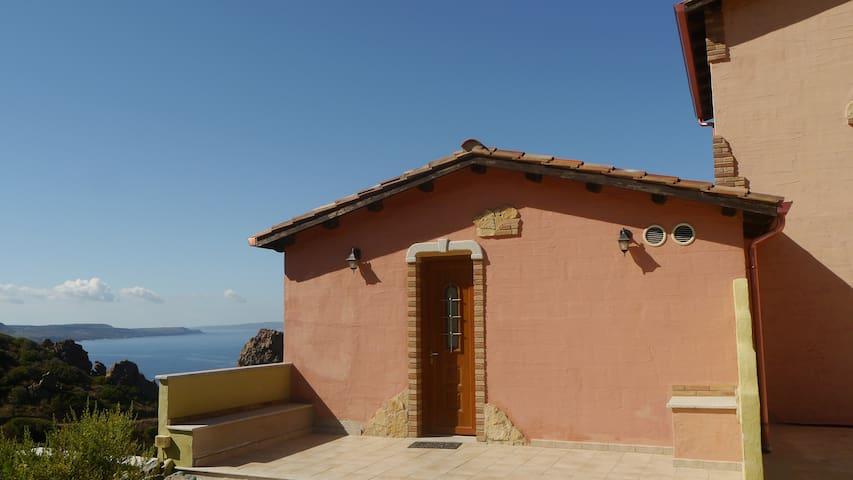 Villetta in villaggio turistico - Nebida - วิลล่า
