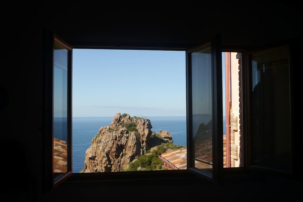 Vista dalla cucina. View from the kitchen.