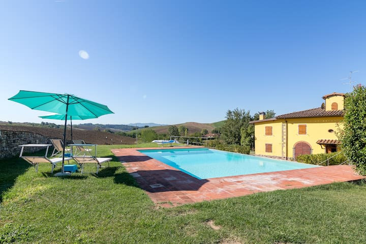 Villa with private pool in Chianti, Tuscany 10pax - Piantravigne - Villa