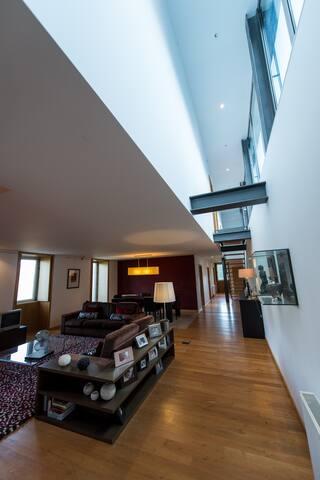 Casa moderna com vista espetacular - Sabrosa - Villa