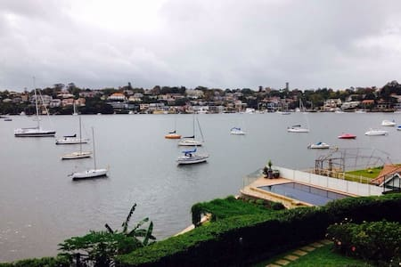 Beautiful water-view apartment - Drummoyne - Apartemen