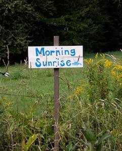 Group Tent Site - Four Springs Farm - Royalton
