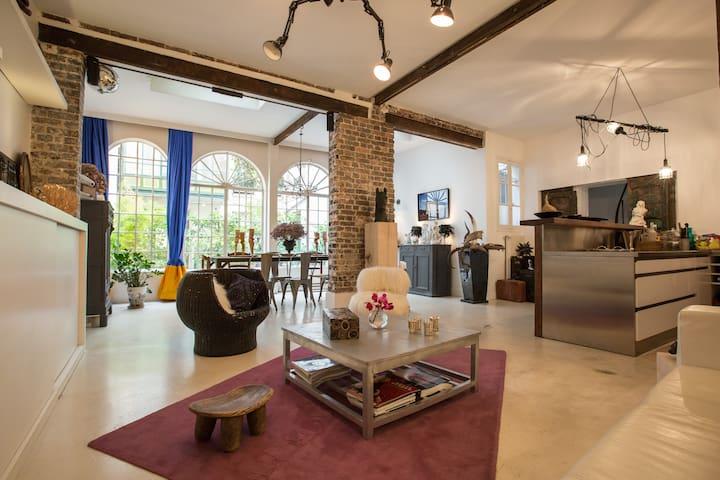 Charming quiet backyard house, 10th - Paris - Haus