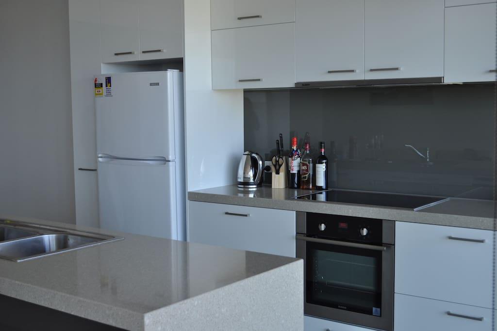 Modern Kitchen including dishwasher, microwave etc