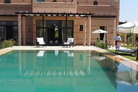 Villa Fleurs de Marrakech 4 chambres - Marrákes