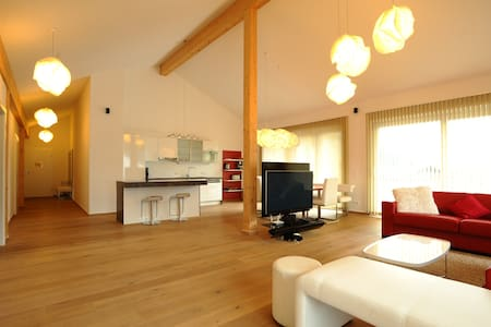 Penthouse Living - an der Skipiste - Haus - Apartment