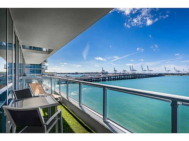 Waterfront Luxury 1 bed South Beach - Miami Beach - Appartement