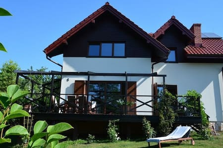 House near the landscape park. - Bolechowice - Talo