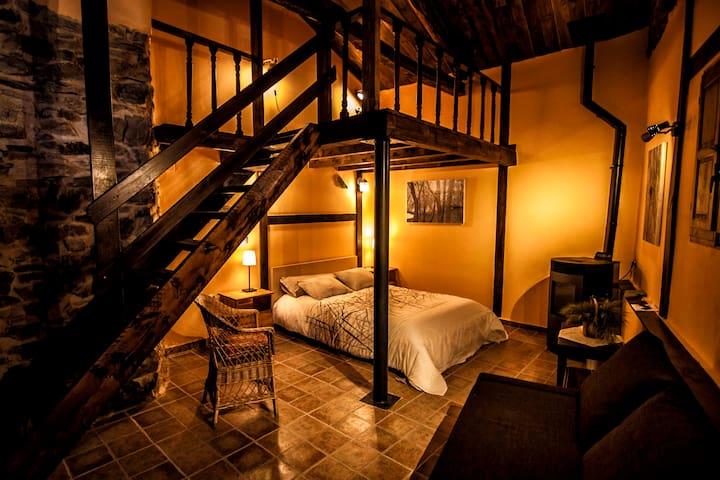 La Ponteja;acojedora casa de piedra