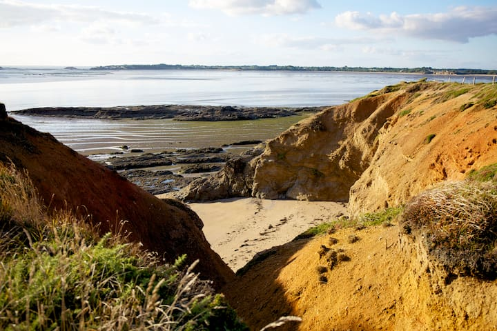 Un lieu écologique près de l'océan - Assérac - Huis