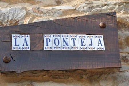 La Ponteja;acojedora casa de piedra - Fresno de la Valduerna - Ev