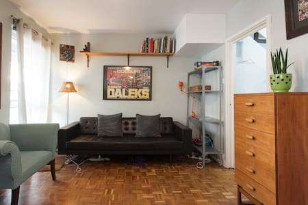 Family-friendly Shoreditch Apt - Lontoo
