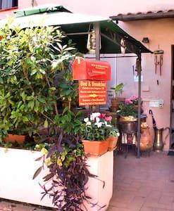 camere in dependance villa del 700 - Molina di Quosa-rigoli - Bed & Breakfast