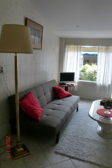 Livingroom guesthouse (TV & Wifi present)