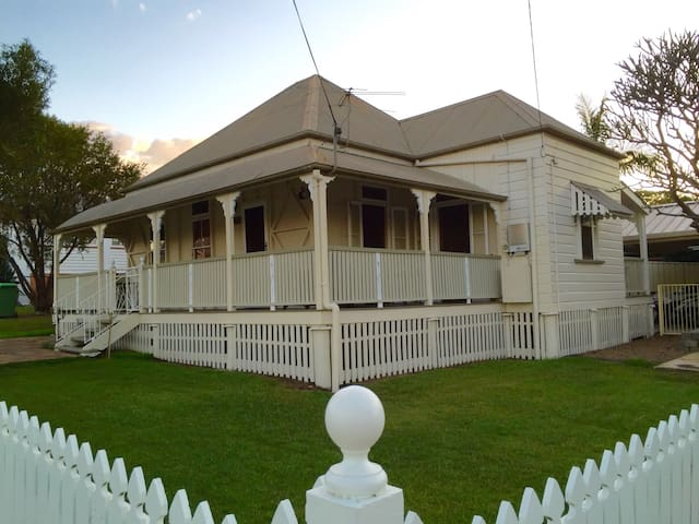 Rose Cottage, built in 1897. - Booval - Casa