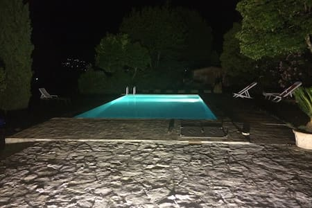 Villa Marina - suite overlooking countryside - Perugia