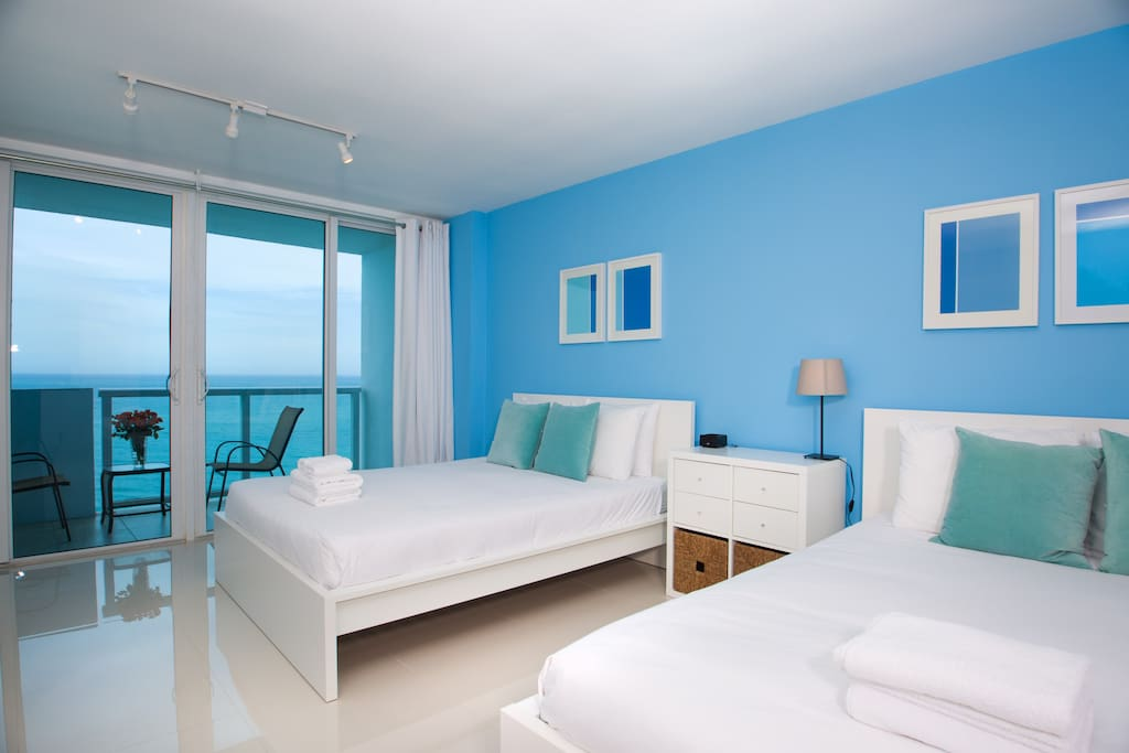 Ocean view w balcony w parking 1430 apartments for rent - 2 bedroom hotel suites in miami south beach ...