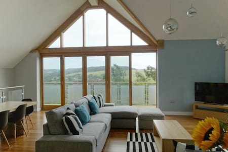 New luxury house stunning views - Charmouth