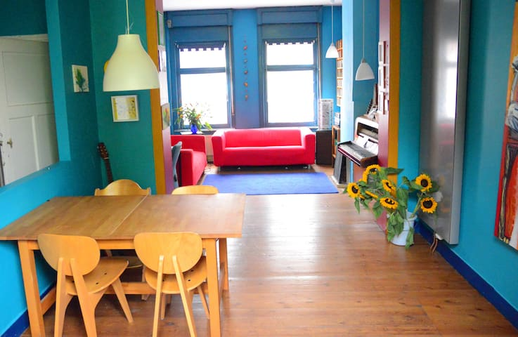 Charming 3 Bed Home near the center - Evere - Reihenhaus