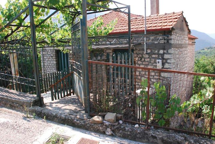 Survival in the mountains of Haryan - στο χωρίο Δάφνη Ευρυτανίας  - House