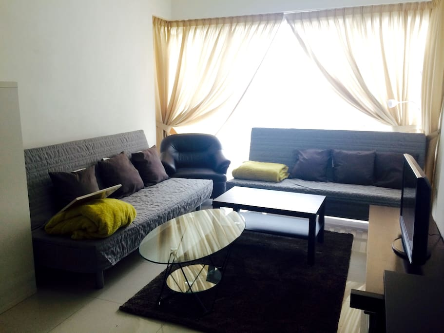 The heart of kuala lumpur 1 flats for rent in kuala lumpur wilayah persekutuan kuala lumpur for Sofa bed kuala lumpur