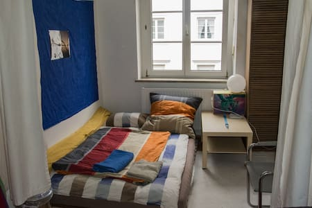 Room type: Private room Bed type: Futon Property type: Apartment Accommodates: 2 Bedrooms: 1 Bathrooms: 1.5