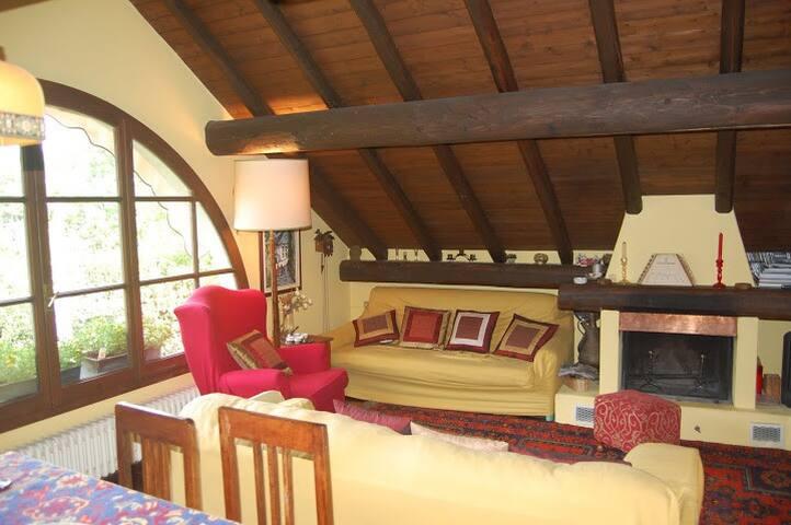 casetta giardino vista lago laveno - Cerro - Casa