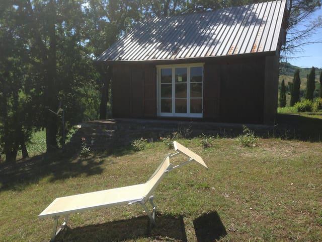 Baita  in  legno - Cesena - Blockhütte
