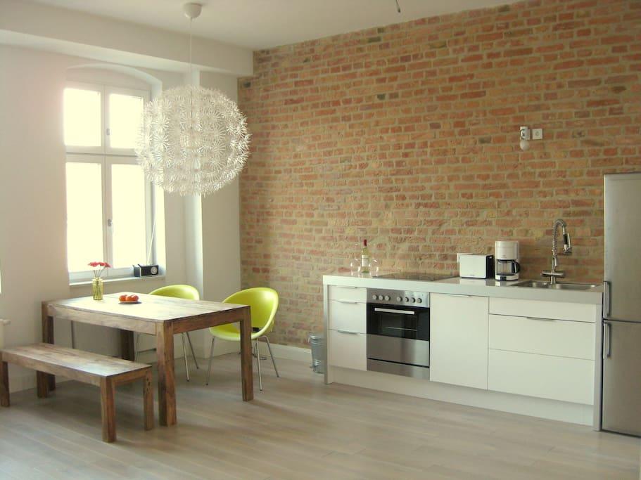 designer loft in berlin mitte lofts zur miete in berlin berlin deutschland. Black Bedroom Furniture Sets. Home Design Ideas