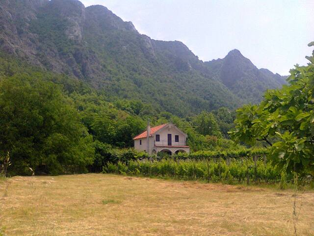 Mountain house near Skadar lake