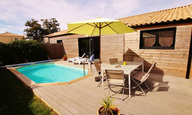 Villa Arméria with heated pool - Talmont-Saint-Hilaire - Villa