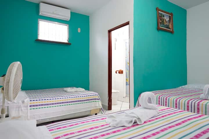 Cheap room near Tikal